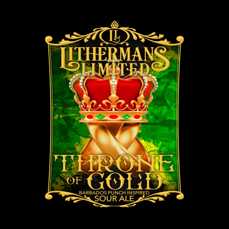 Throne of Gold by Lithermans Limited Print Shop