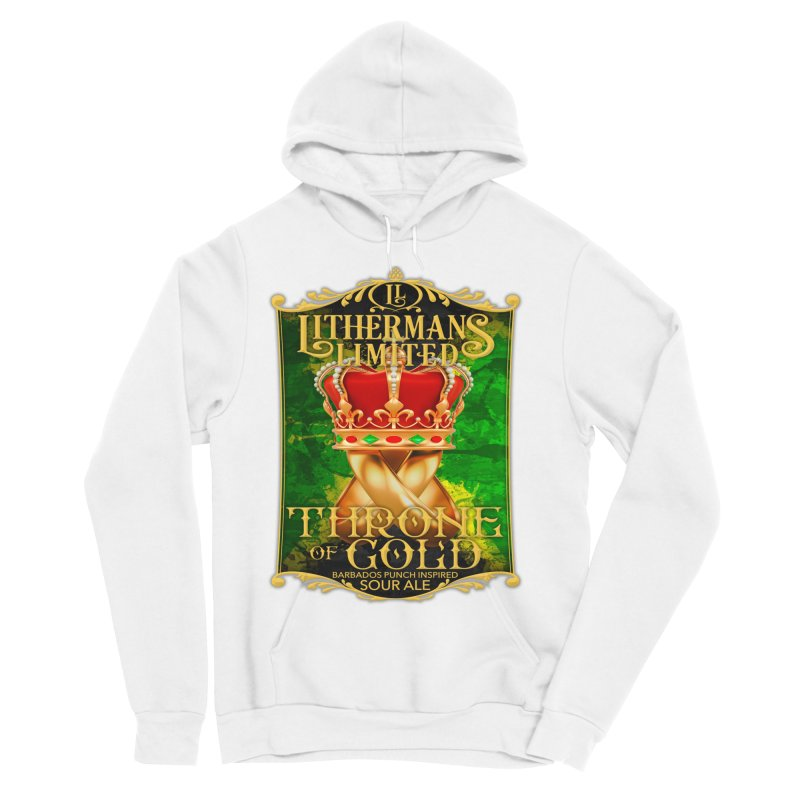 Throne of Gold Women's Sponge Fleece Pullover Hoody by Lithermans Limited Print Shop