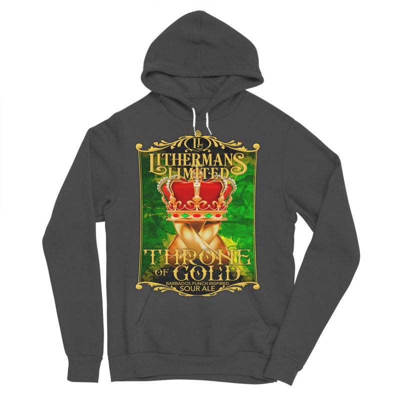 Throne of Gold Men's Sponge Fleece Pullover Hoody by Lithermans Limited Print Shop