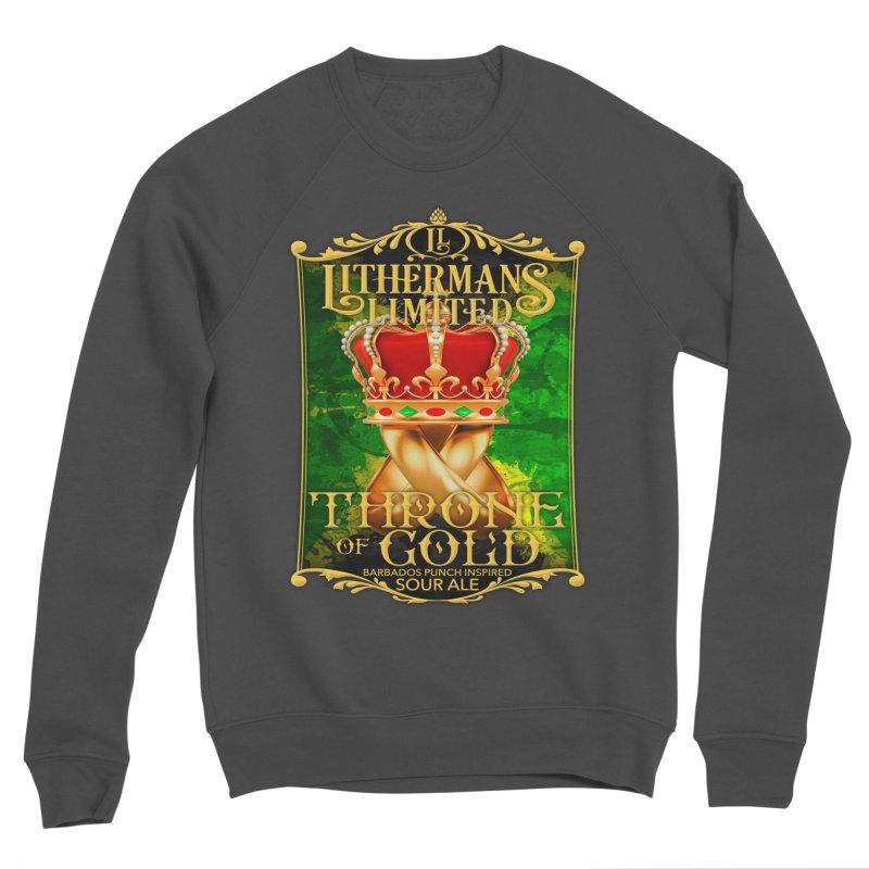 Throne of Gold Women's Sponge Fleece Sweatshirt by Lithermans Limited Print Shop