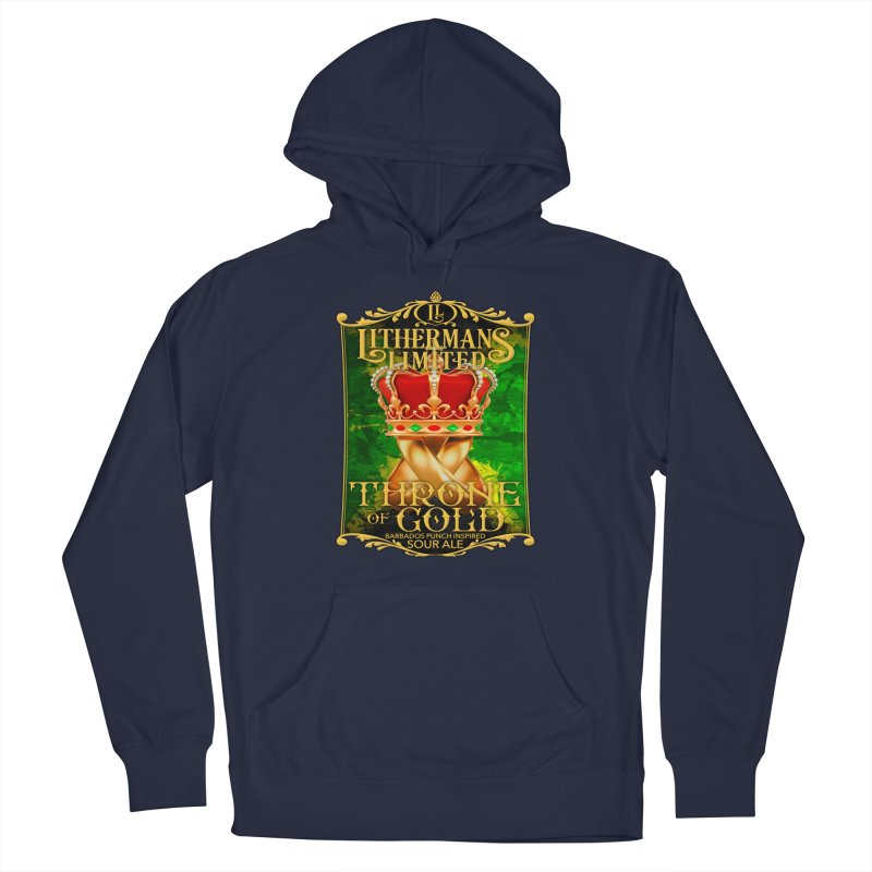 Throne of Gold Men's Pullover Hoody by Lithermans Limited Print Shop