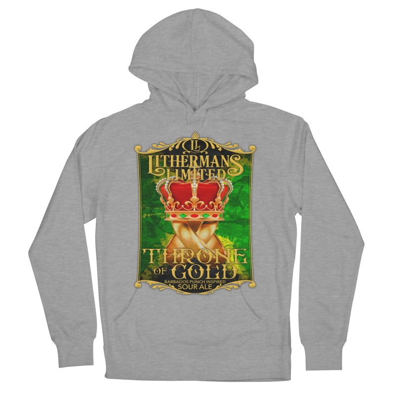Throne of Gold Women's French Terry Pullover Hoody by Lithermans Limited Print Shop