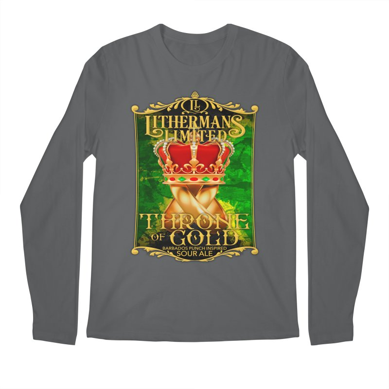 Throne of Gold Men's Longsleeve T-Shirt by Lithermans Limited Print Shop
