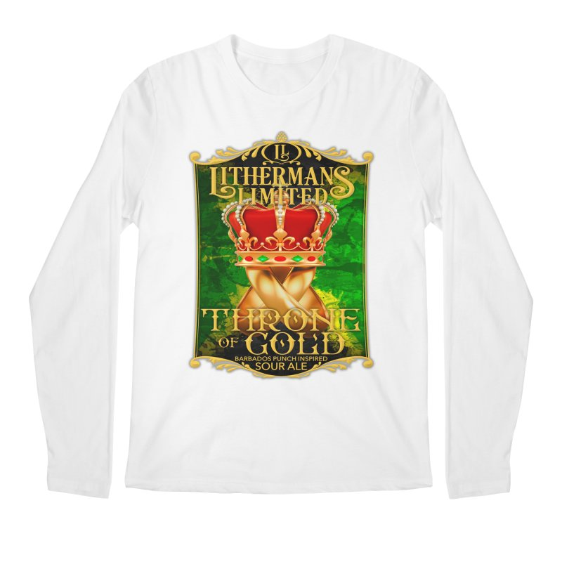Throne of Gold Men's Regular Longsleeve T-Shirt by Lithermans Limited Print Shop