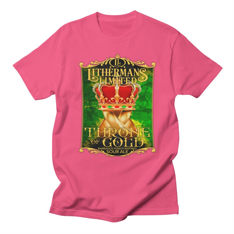 Throne of Gold Women's Regular Unisex T-Shirt by Lithermans Limited Print Shop