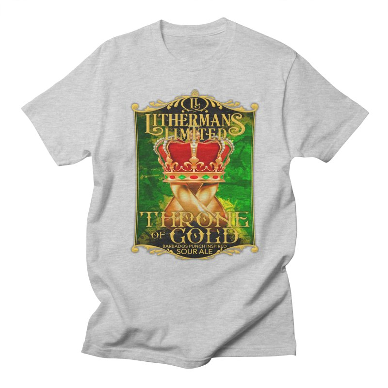 Throne of Gold Men's T-Shirt by Lithermans Limited Print Shop