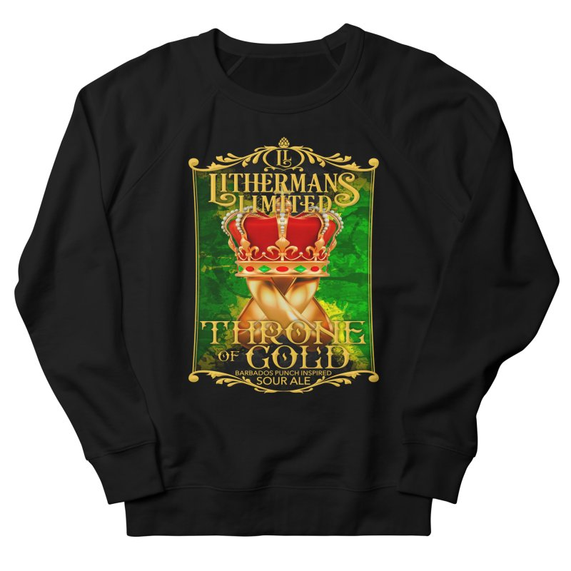 Throne of Gold Men's French Terry Sweatshirt by Lithermans Limited Print Shop