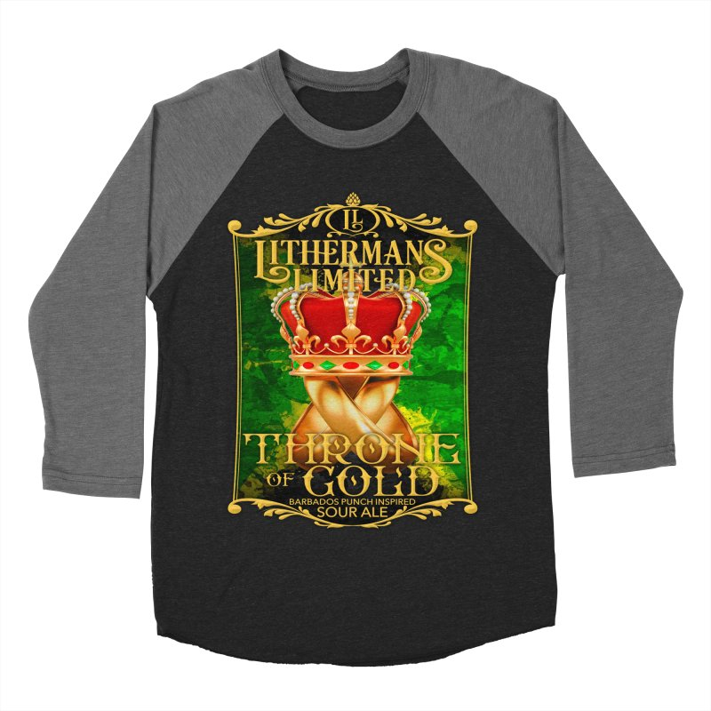 Throne of Gold Men's Baseball Triblend Longsleeve T-Shirt by Lithermans Limited Print Shop
