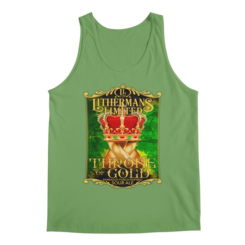 Throne of Gold Men's Tank by Lithermans Limited Print Shop