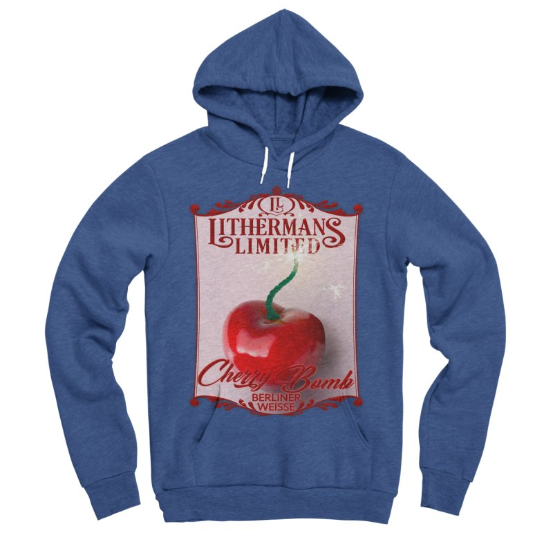 Cherry Bomb Men's Sponge Fleece Pullover Hoody by Lithermans Limited Print Shop