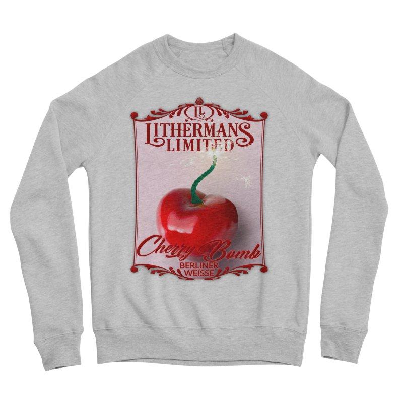 Cherry Bomb Women's Sponge Fleece Sweatshirt by Lithermans Limited Print Shop