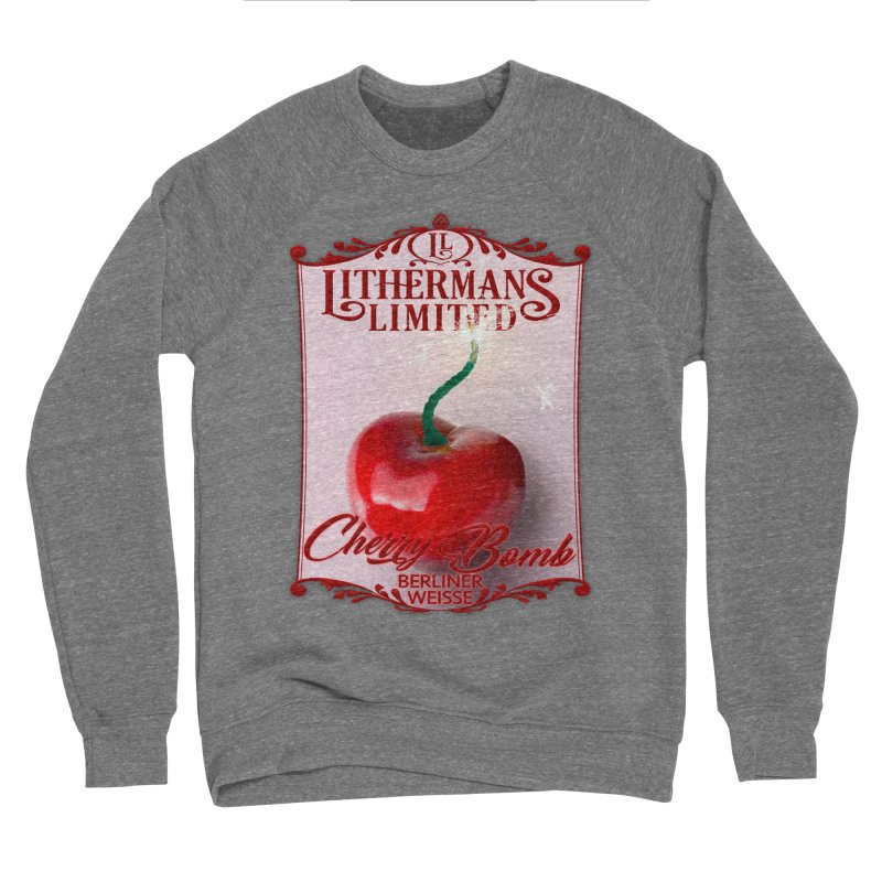 Cherry Bomb Men's Sponge Fleece Sweatshirt by Lithermans Limited Print Shop