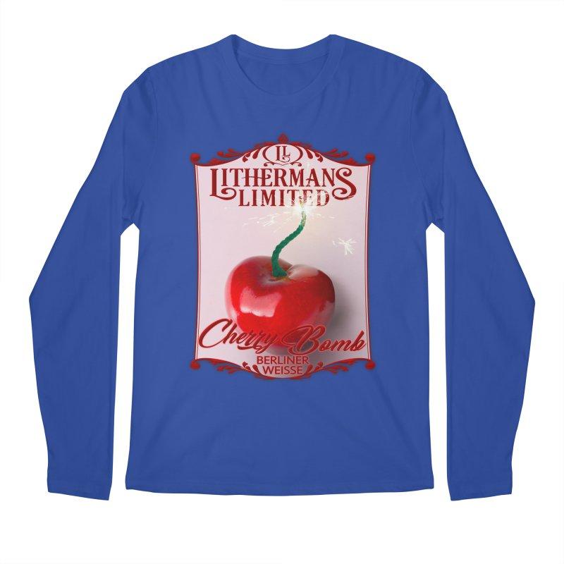 Cherry Bomb Men's Regular Longsleeve T-Shirt by Lithermans Limited Print Shop