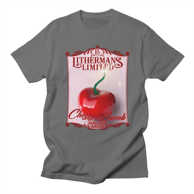 Cherry Bomb Women's Regular Unisex T-Shirt by Lithermans Limited Print Shop