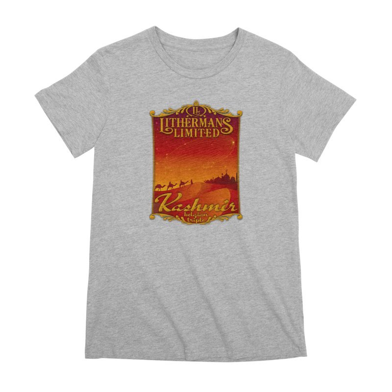 Kashmir Women's Premium T-Shirt by Lithermans Limited Print Shop