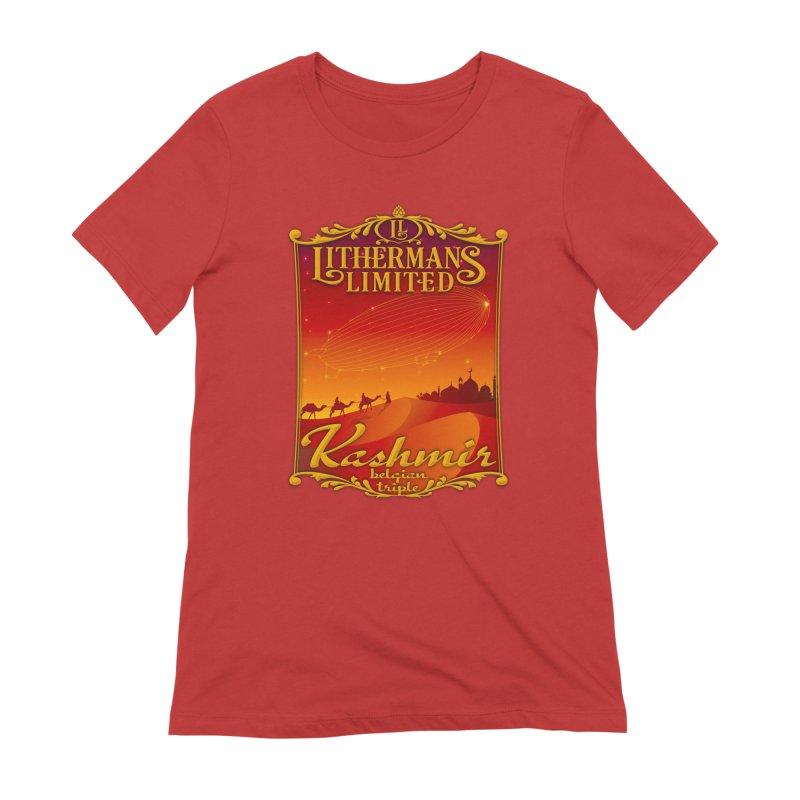 Kashmir Women's Extra Soft T-Shirt by Lithermans Limited Print Shop