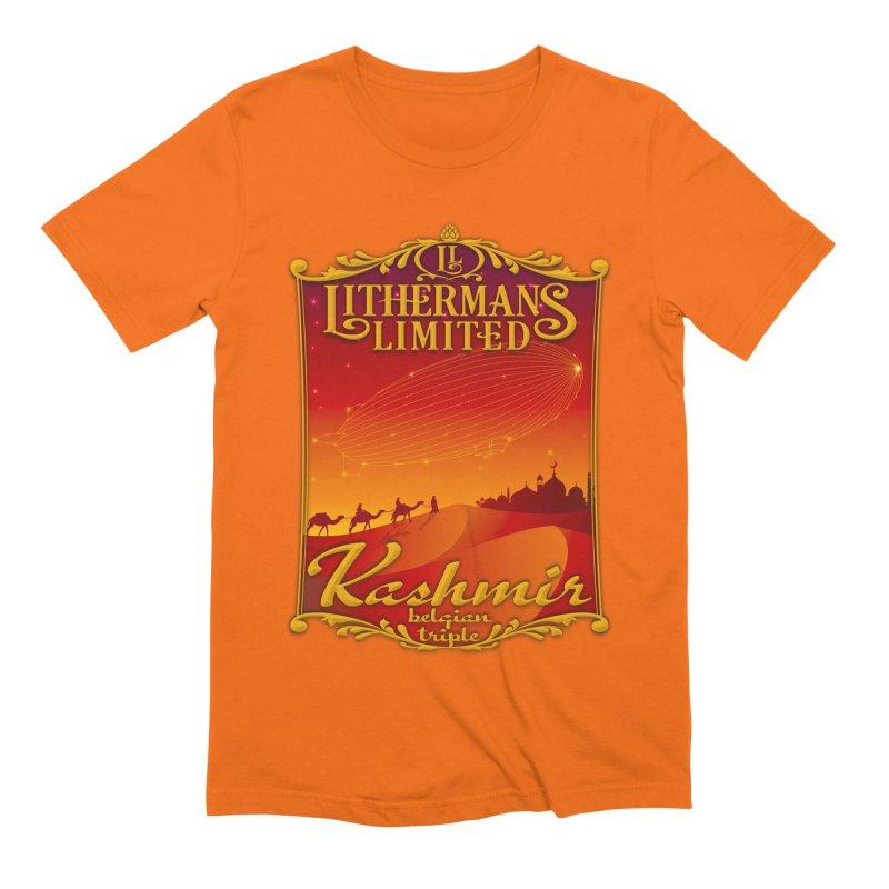 Kashmir Men's Extra Soft T-Shirt by Lithermans Limited Print Shop