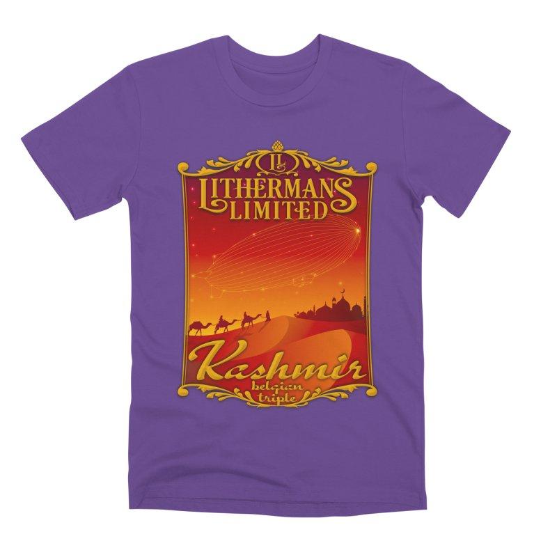 Kashmir Men's Premium T-Shirt by Lithermans Limited Print Shop