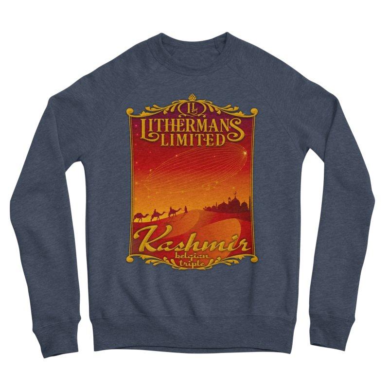 Kashmir Men's Sponge Fleece Sweatshirt by Lithermans Limited Print Shop
