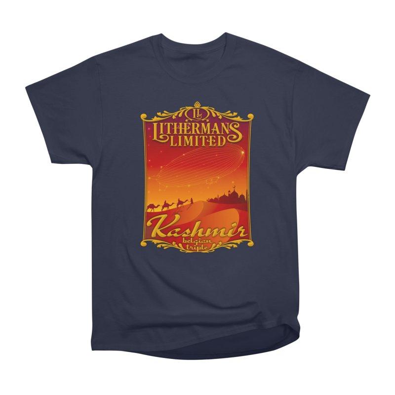 Kashmir Women's Heavyweight Unisex T-Shirt by Lithermans Limited Print Shop