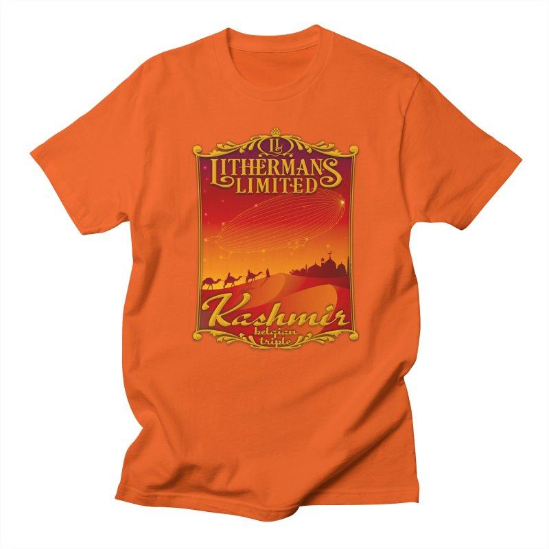 Kashmir Men's Regular T-Shirt by Lithermans Limited Print Shop