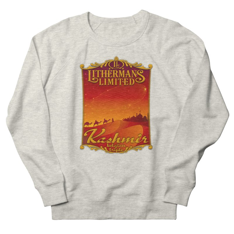 Kashmir Women's French Terry Sweatshirt by Lithermans Limited Print Shop