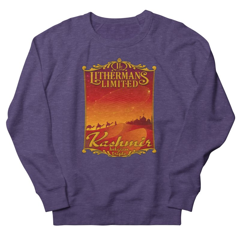 Kashmir Men's French Terry Sweatshirt by Lithermans Limited Print Shop