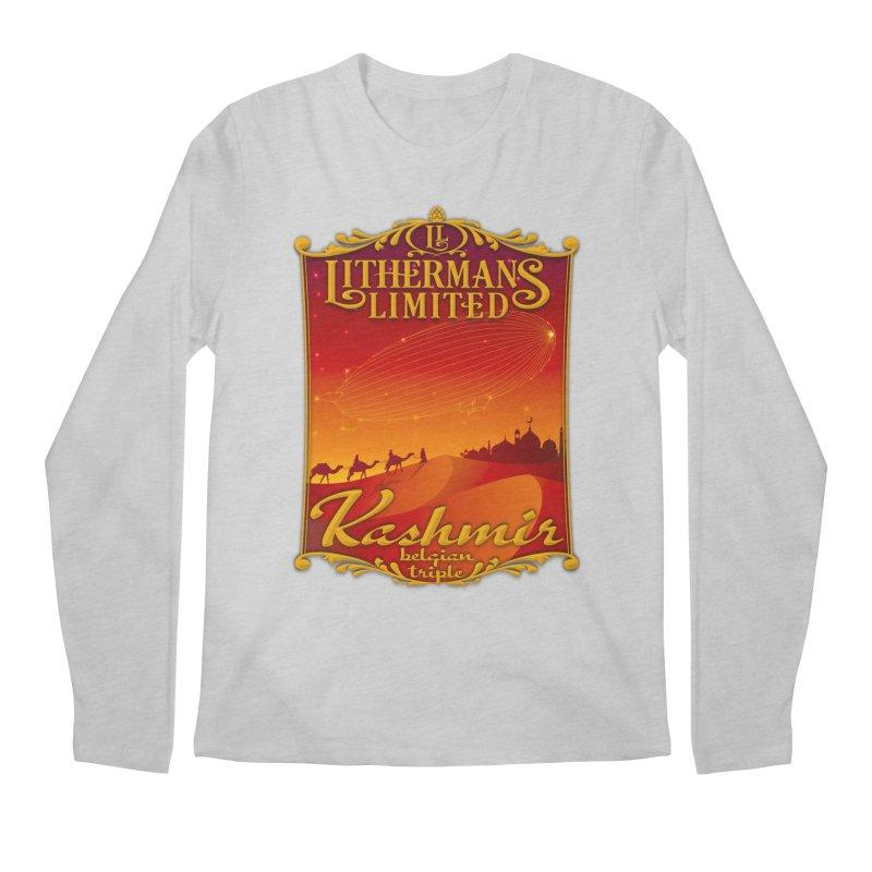 Kashmir Men's Regular Longsleeve T-Shirt by Lithermans Limited Print Shop