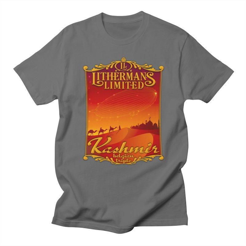Kashmir Men's T-Shirt by Lithermans Limited Print Shop