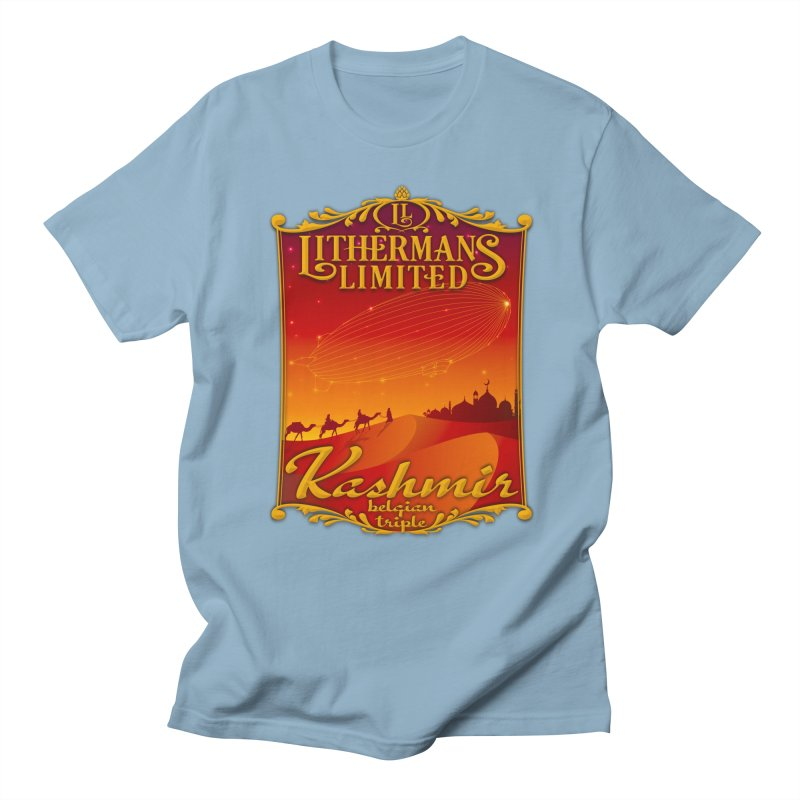 Kashmir Men's Regular T-Shirt by Lithermans Limited Print Shop