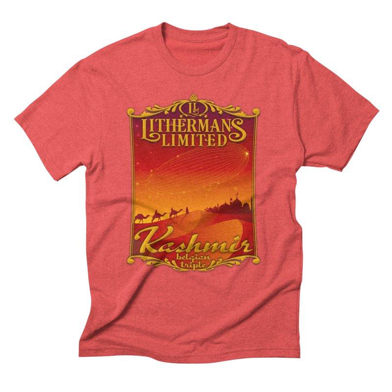 Kashmir Men's Triblend T-Shirt by Lithermans Limited Print Shop