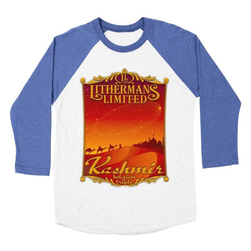 Kashmir Women's Baseball Triblend Longsleeve T-Shirt by Lithermans Limited Print Shop