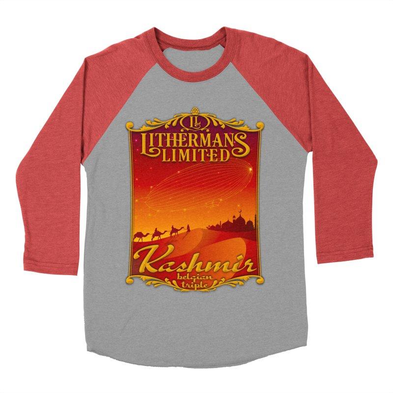 Kashmir Men's Baseball Triblend Longsleeve T-Shirt by Lithermans Limited Print Shop