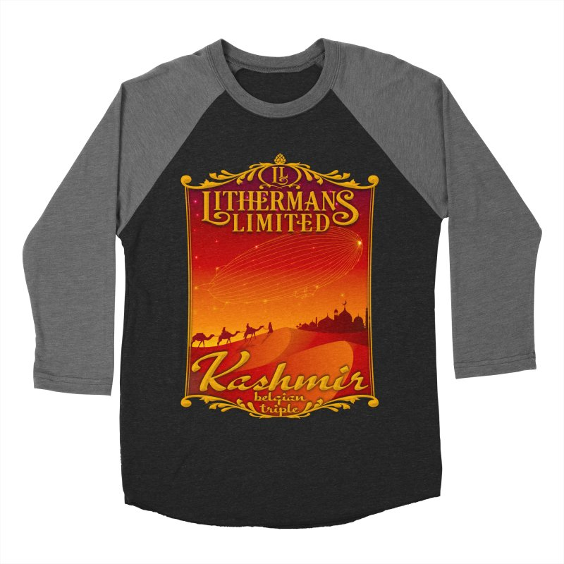 Kashmir Men's Baseball Triblend Longsleeve T-Shirt by Lithermans Limited Print Shop