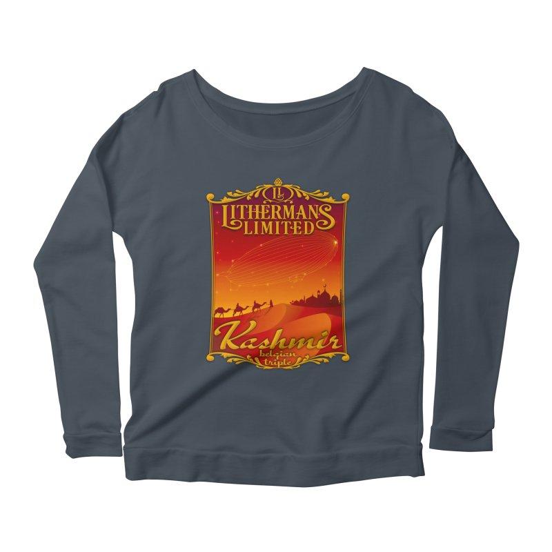 Kashmir Women's Scoop Neck Longsleeve T-Shirt by Lithermans Limited Print Shop