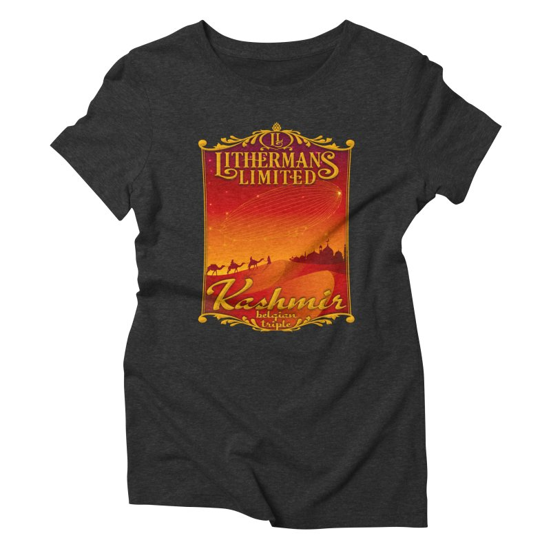 Kashmir Women's Triblend T-Shirt by Lithermans Limited Print Shop