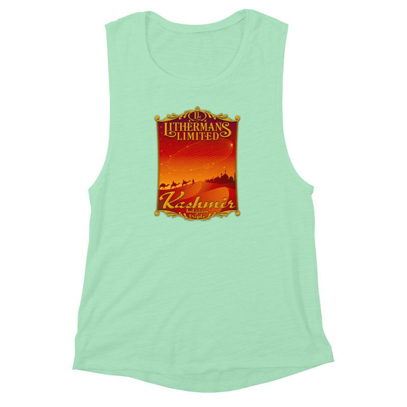 Kashmir Women's Muscle Tank by Lithermans Limited Print Shop