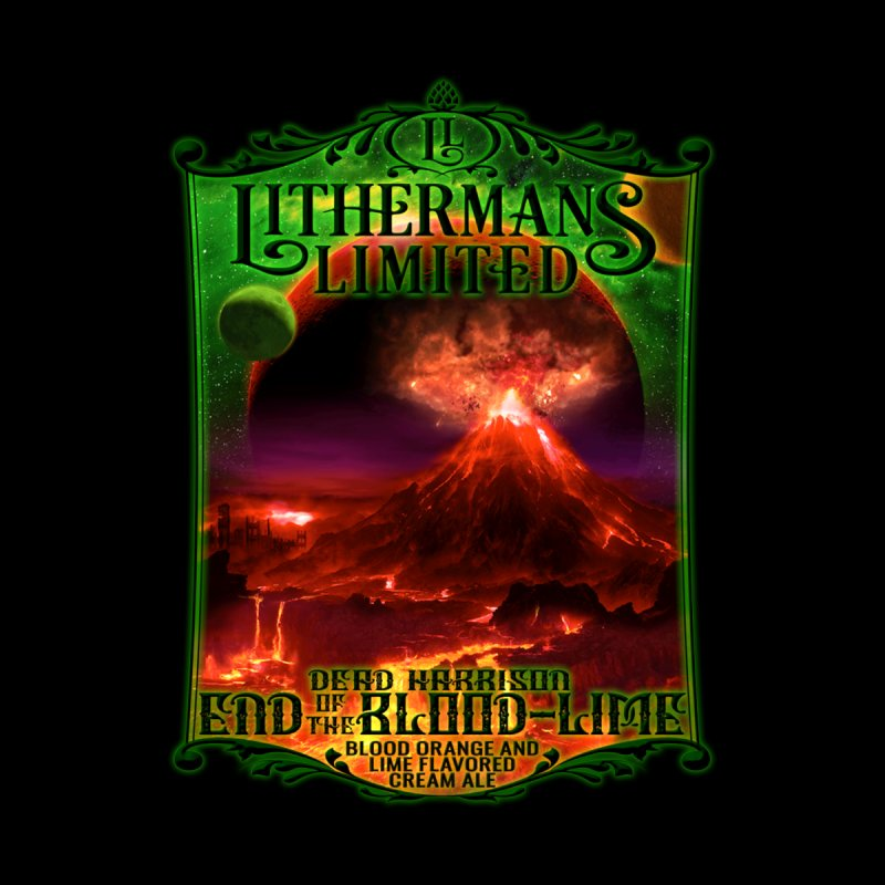 End of the Blood-Lime by Lithermans Limited Print Shop