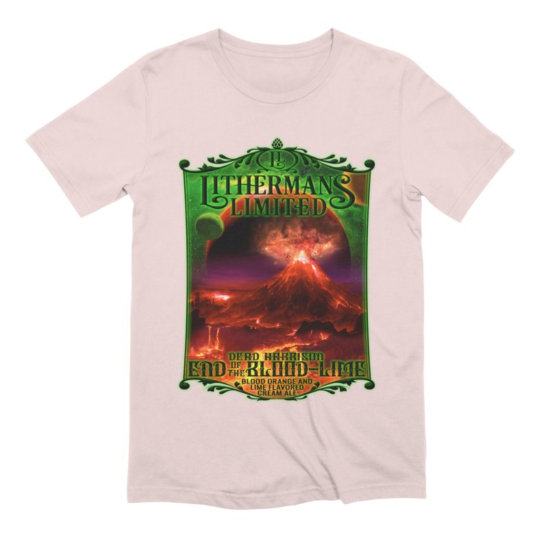End of the Blood-Lime Men's Extra Soft T-Shirt by Lithermans Limited Print Shop