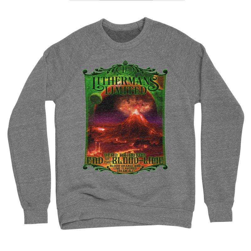 End of the Blood-Lime Women's Sponge Fleece Sweatshirt by Lithermans Limited Print Shop