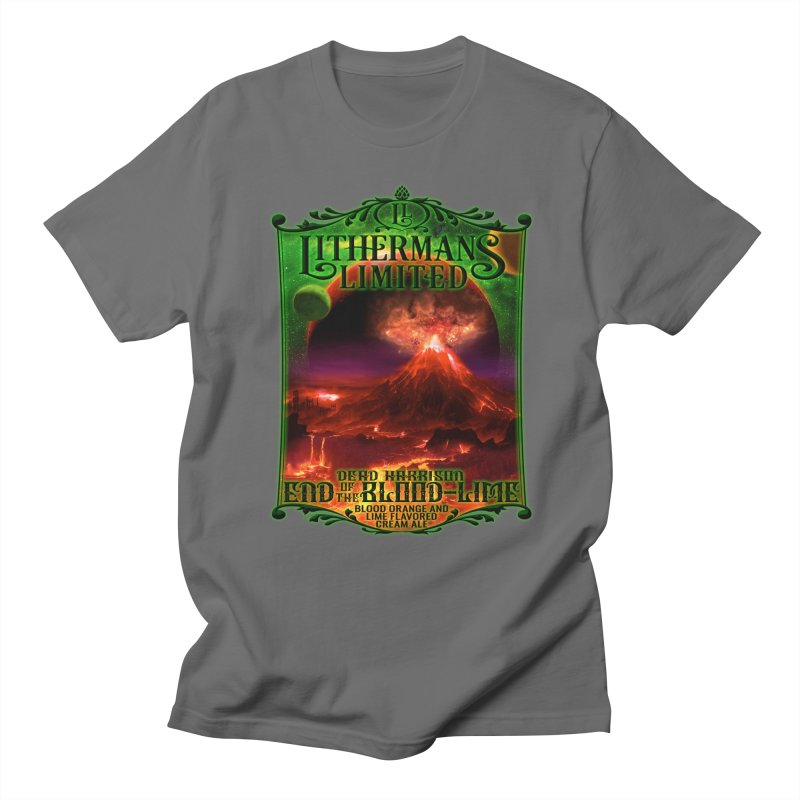 End of the Blood-Lime Men's T-Shirt by Lithermans Limited Print Shop