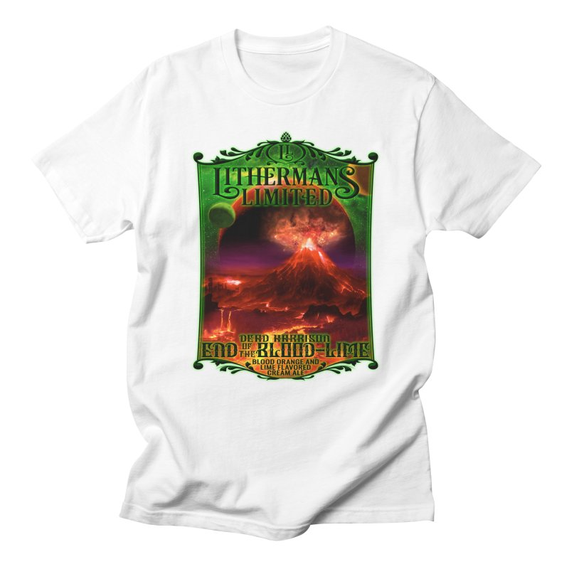 End of the Blood-Lime Women's Regular Unisex T-Shirt by Lithermans Limited Print Shop
