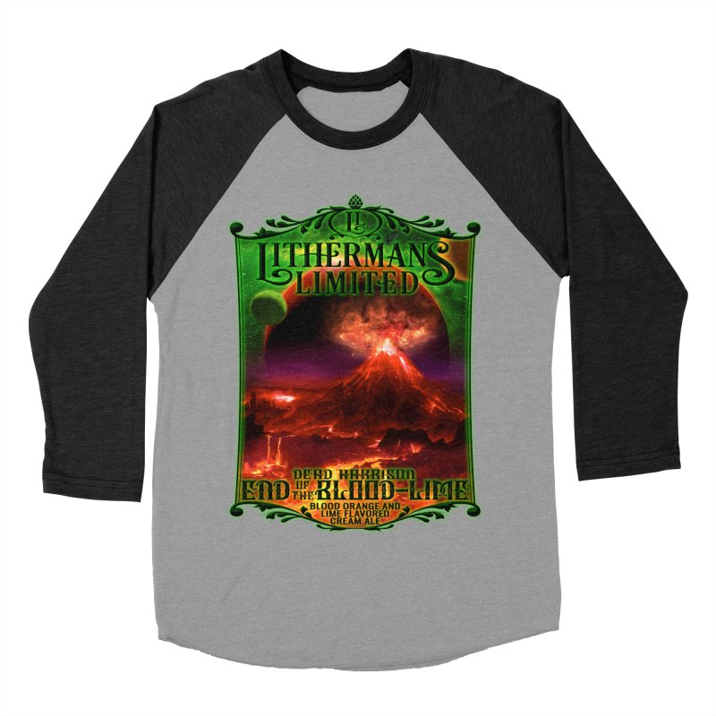 End of the Blood-Lime Women's Baseball Triblend Longsleeve T-Shirt by Lithermans Limited Print Shop