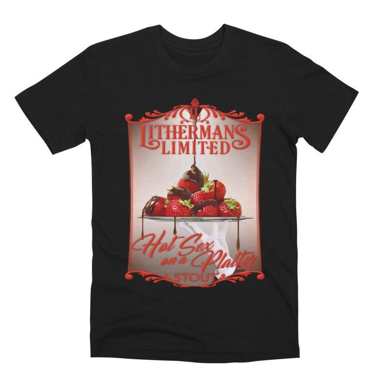 Hot Sex on a Platter Men's Premium T-Shirt by Lithermans Limited Print Shop