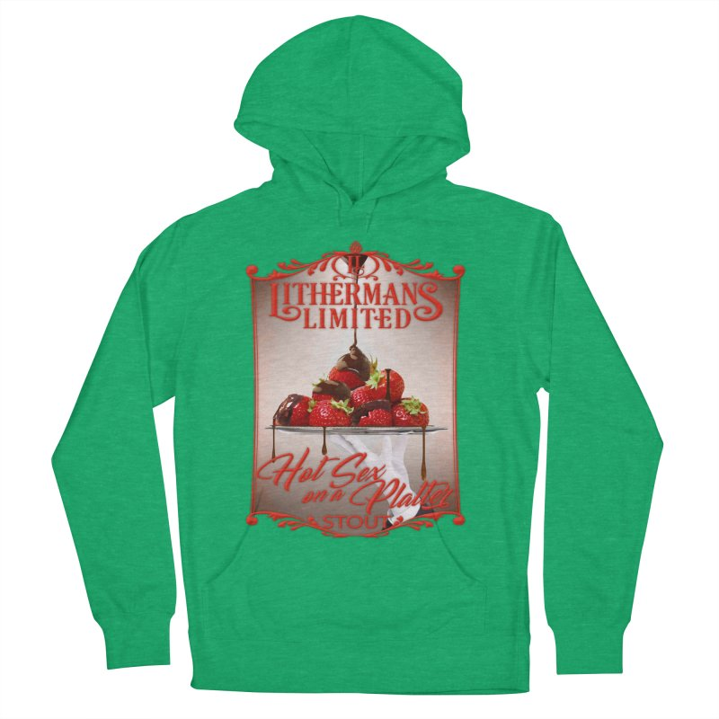 Hot Sex on a Platter Men's French Terry Pullover Hoody by Lithermans Limited Print Shop