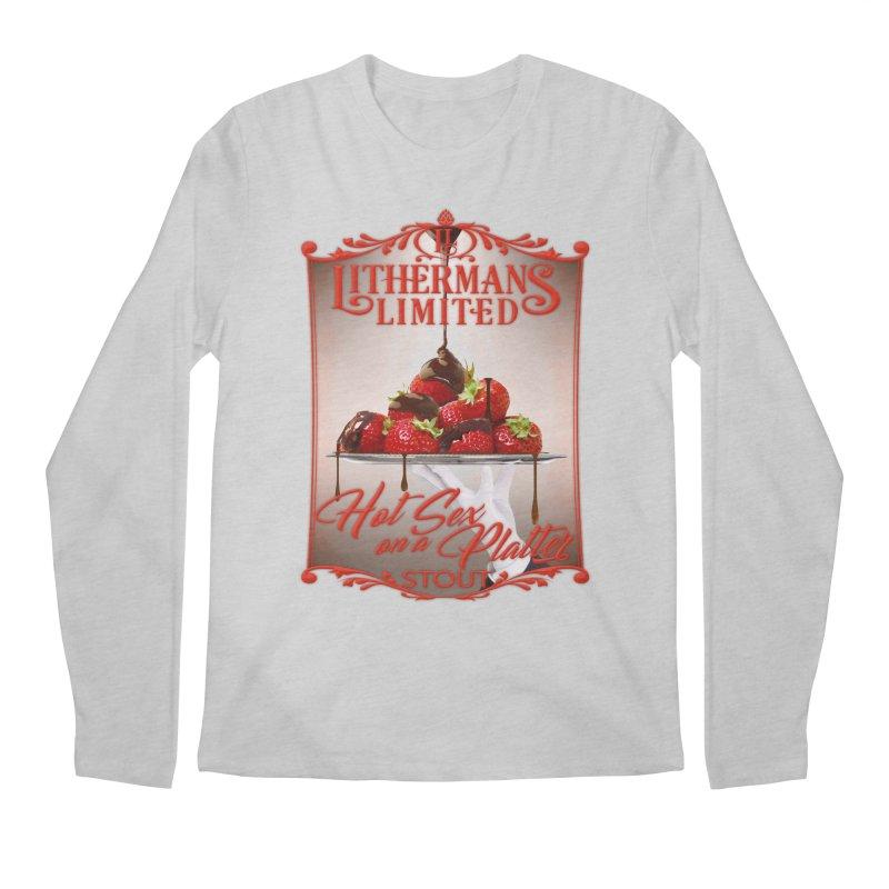 Hot Sex on a Platter Men's Regular Longsleeve T-Shirt by Lithermans Limited Print Shop
