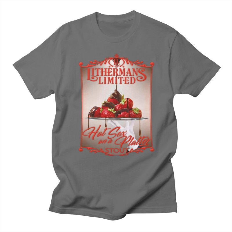Hot Sex on a Platter Men's T-Shirt by Lithermans Limited Print Shop