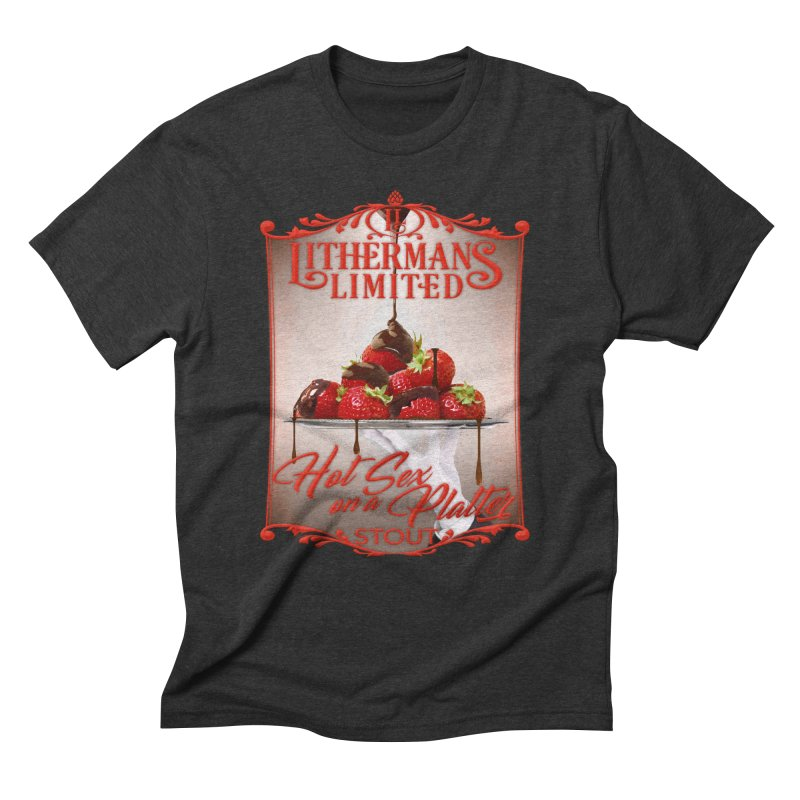 Hot Sex on a Platter Men's Triblend T-Shirt by Lithermans Limited Print Shop