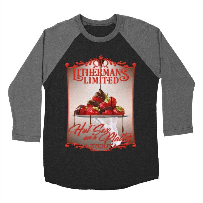 Hot Sex on a Platter Men's Baseball Triblend Longsleeve T-Shirt by Lithermans Limited Print Shop