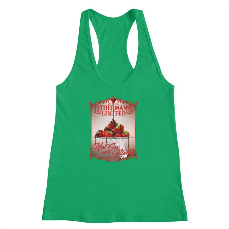 Hot Sex on a Platter Women's Racerback Tank by Lithermans Limited Print Shop
